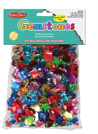 These Gemstones come in all sorts of sizes and shapes including: hearts, flowers, ovals, squares, rounds, rectangles, teardrops, stars, crowns, and more!All Shapes have a flat back for gluing!