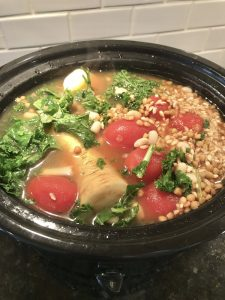 Fill your belly Veggie Soup – One point per serving on Weight Watchers Blue