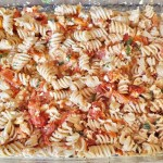 Mama's Feta Tomato Pasta Bake - Just Four points per serving on Weight Watchers Blue