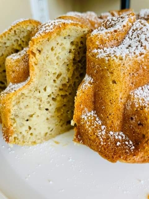 Ginger Spiced Orange Bundt Cake - Three points per serving on all Weight Watchers Plans