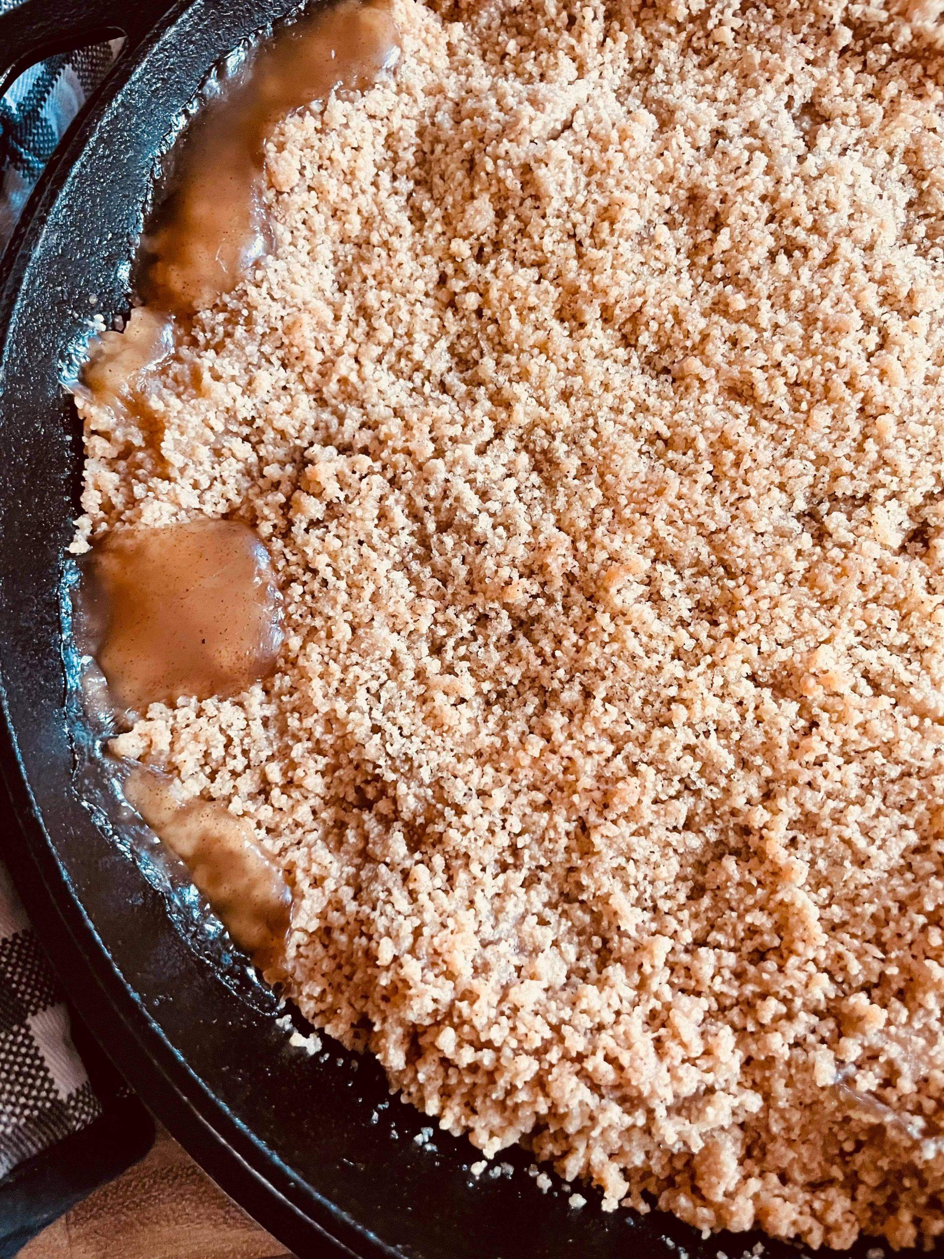 Apple Pie Crisp -Four points per serving on all Weight Watchers plans!
