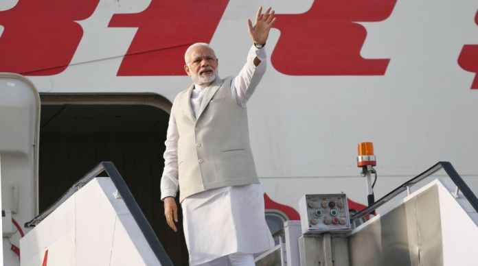 Modi's foreign visits aimed at improving relations: BJP