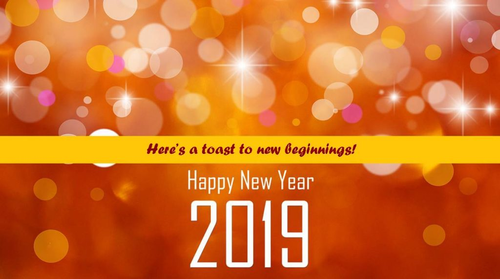 Happy New Year 2019 Best New Year Wishes Images SMS