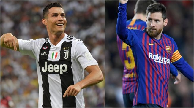 Image result for ronaldo vs messi