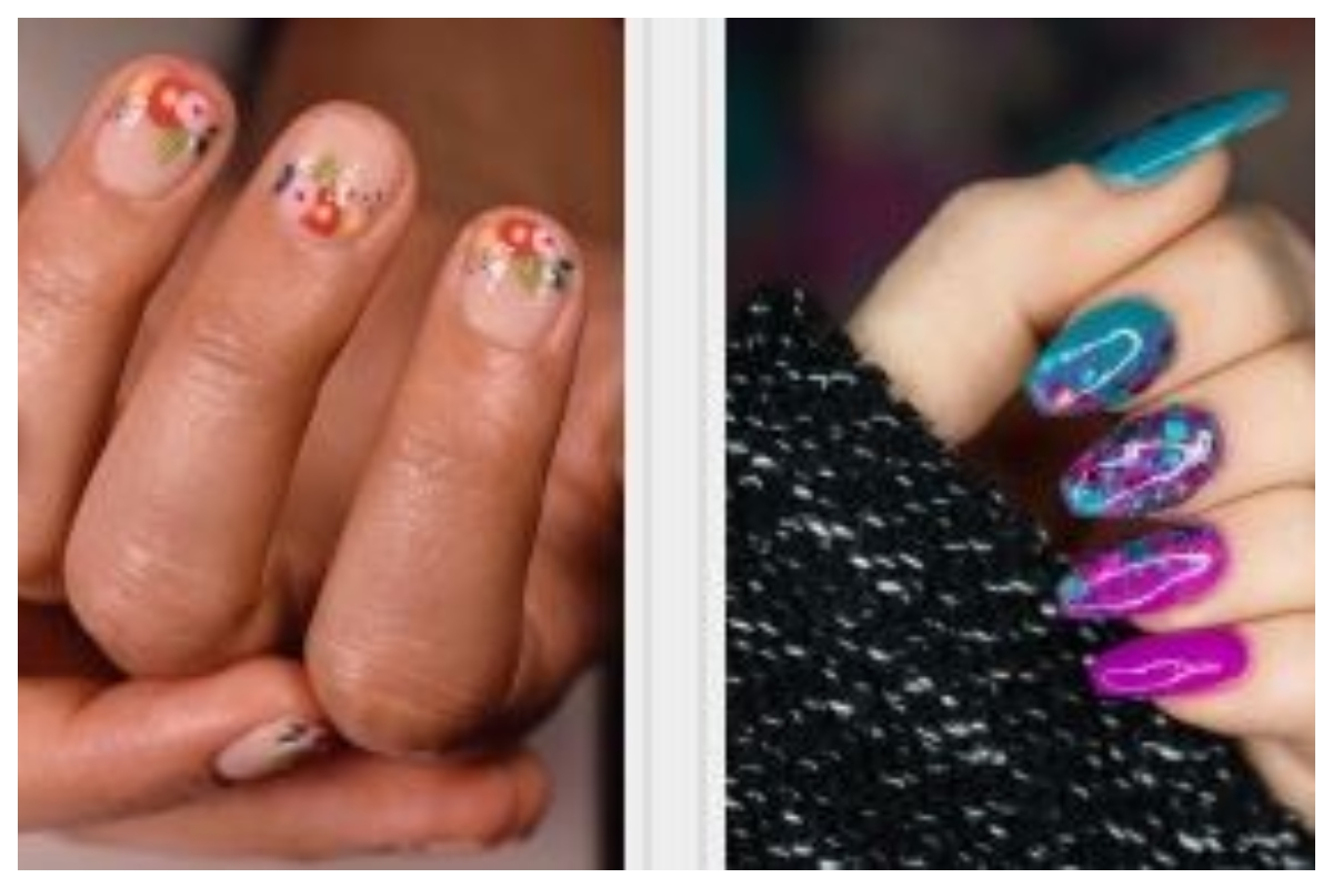 More Than Just A Manicure Nail Art On Budget This Season