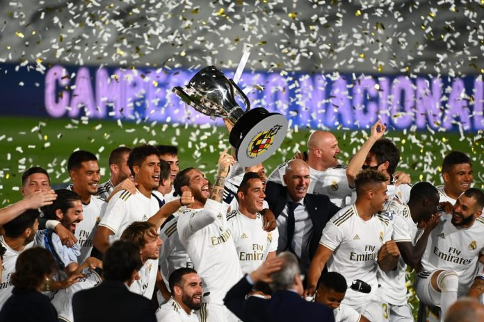 Real Madrid crowned La Liga 2019-20 champions as Karim Benzema scores brace  against Villarreal