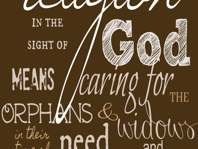 James 1:27 verse