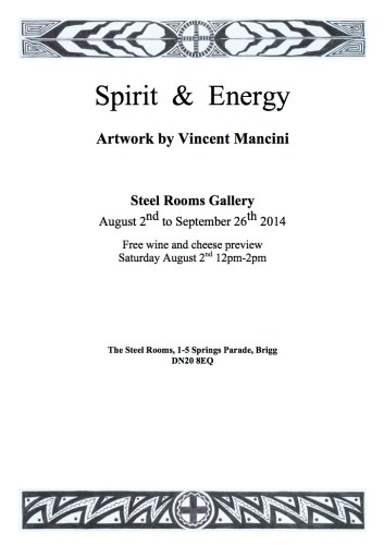 Spirit and Engery Exhibition-Poster