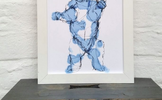 Bear Print by Emma Roberts The Steel Rooms