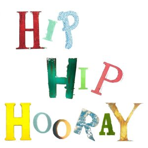 Hip Hip Hooray Card The Steel Rooms Designs