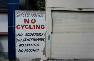 No cycling makes for safe cycling in Australia
