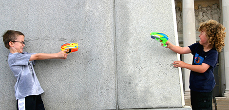 I have to register my gun, and you should have to register your water pistol