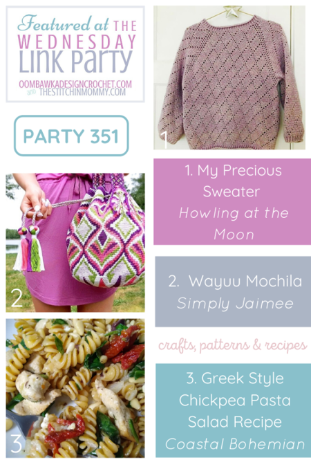 The Wednesday Link Party #351   www.thestitchinmommy.com