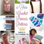 12 Free Crochet Princess Patterns