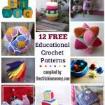 12 Free Educational Crochet Patterns