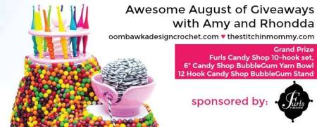 Awesome August of Giveaways - Week 5: Ultimate Furls Candy Shop Prize Pack | www.thestitchinmommy.com