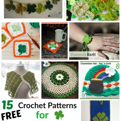 15 Free Crochet Patterns for St Patricks Day
