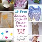 16 Free Butterfly-Inspired Crochet Patterns