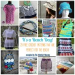 It's a Beach Day! 20 Free Crochet Patterns That Are Perfect for the Beach