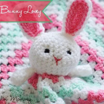 Crochet Bunny Lovey – Free Pattern