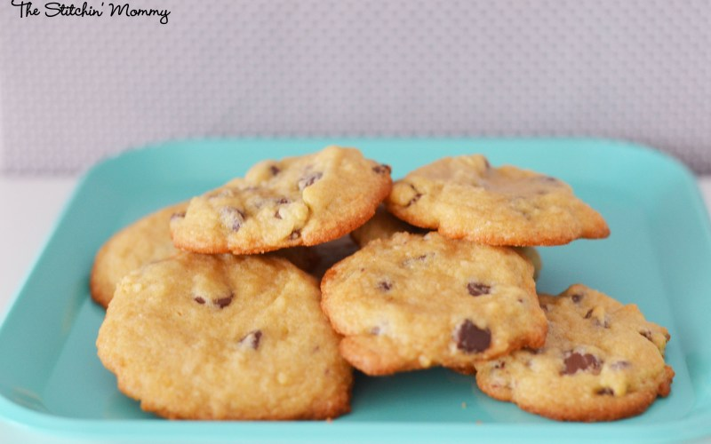 Chocolate Chip Cookies and Blondies {One Recipe, Two Amazing Desserts}
