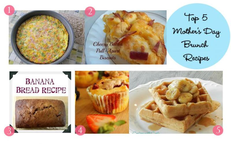 My Top Five {Mother's Day Brunch Recipes}