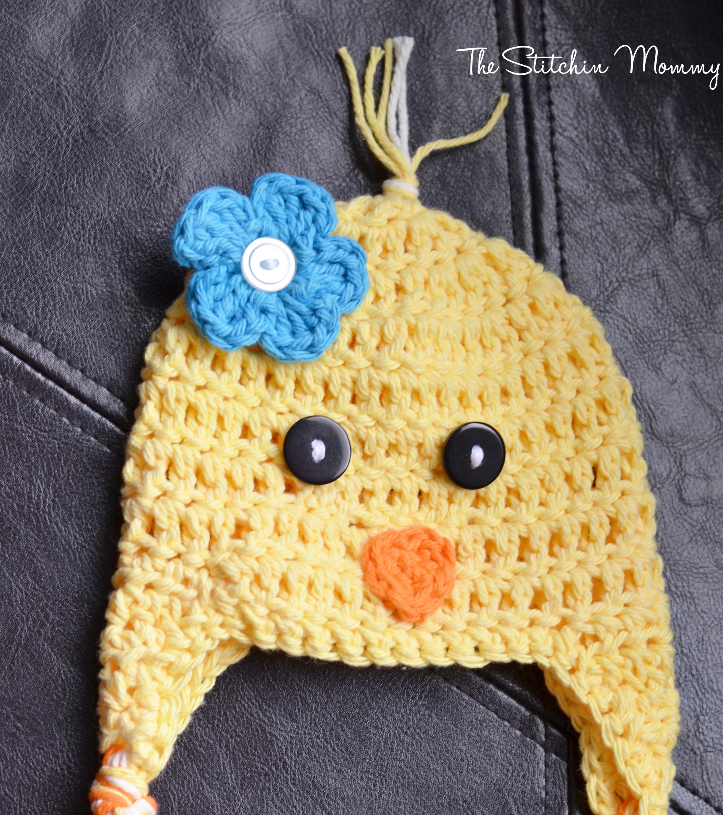 Spring Chick Hat - Free Crochet Pattern - The Stitchin Mommy