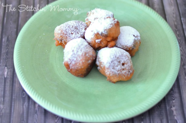 Banana Raisin Fritters www.thestitchinmommy.com