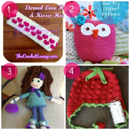 Four Girl Themed Crochet Projects - www.thestitchinmommy.com