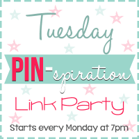 Tuesday PIN-spiration Link Party {63}