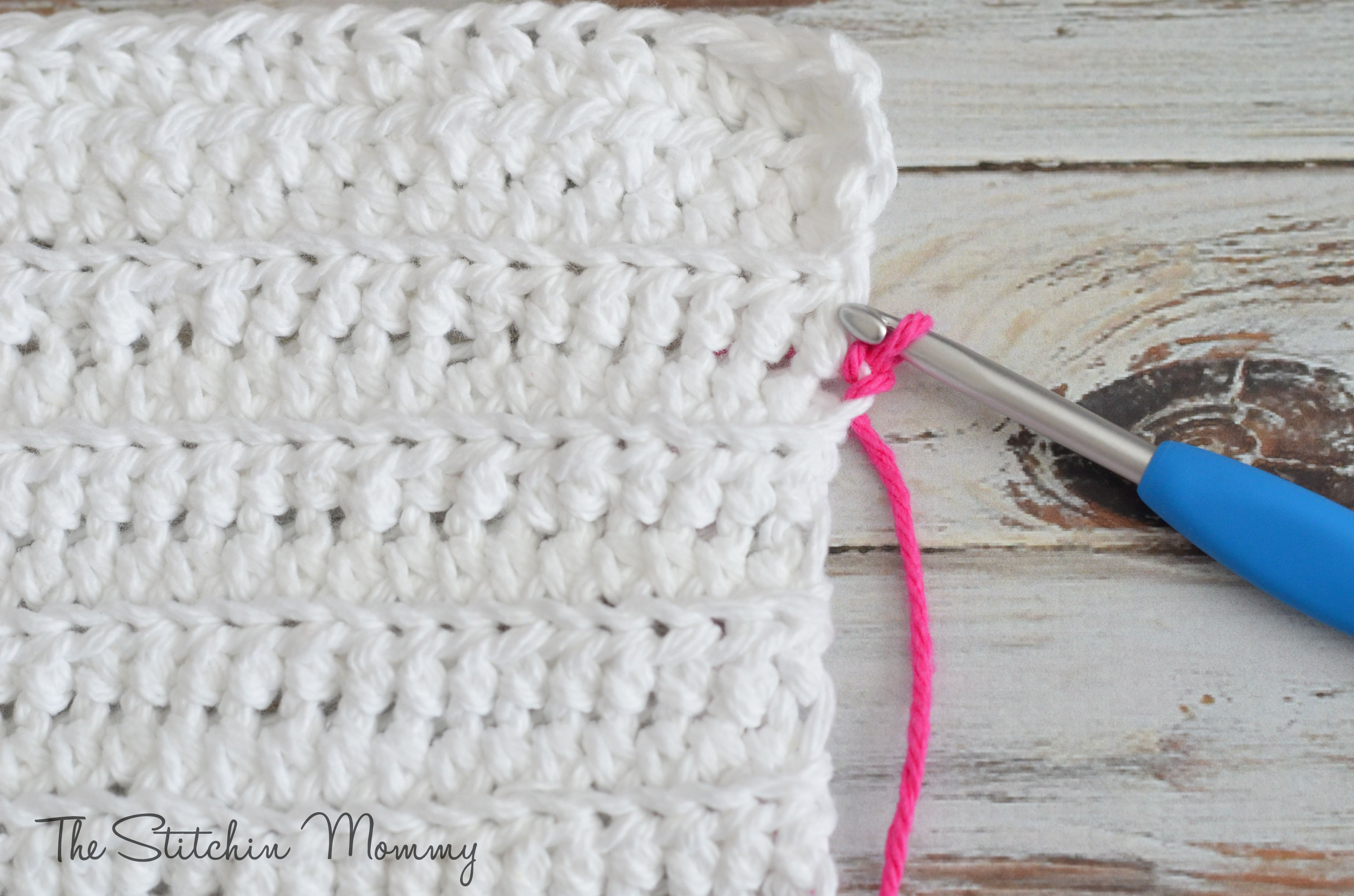 Crochet Striped Dishcloths - The Stitchin Mommy