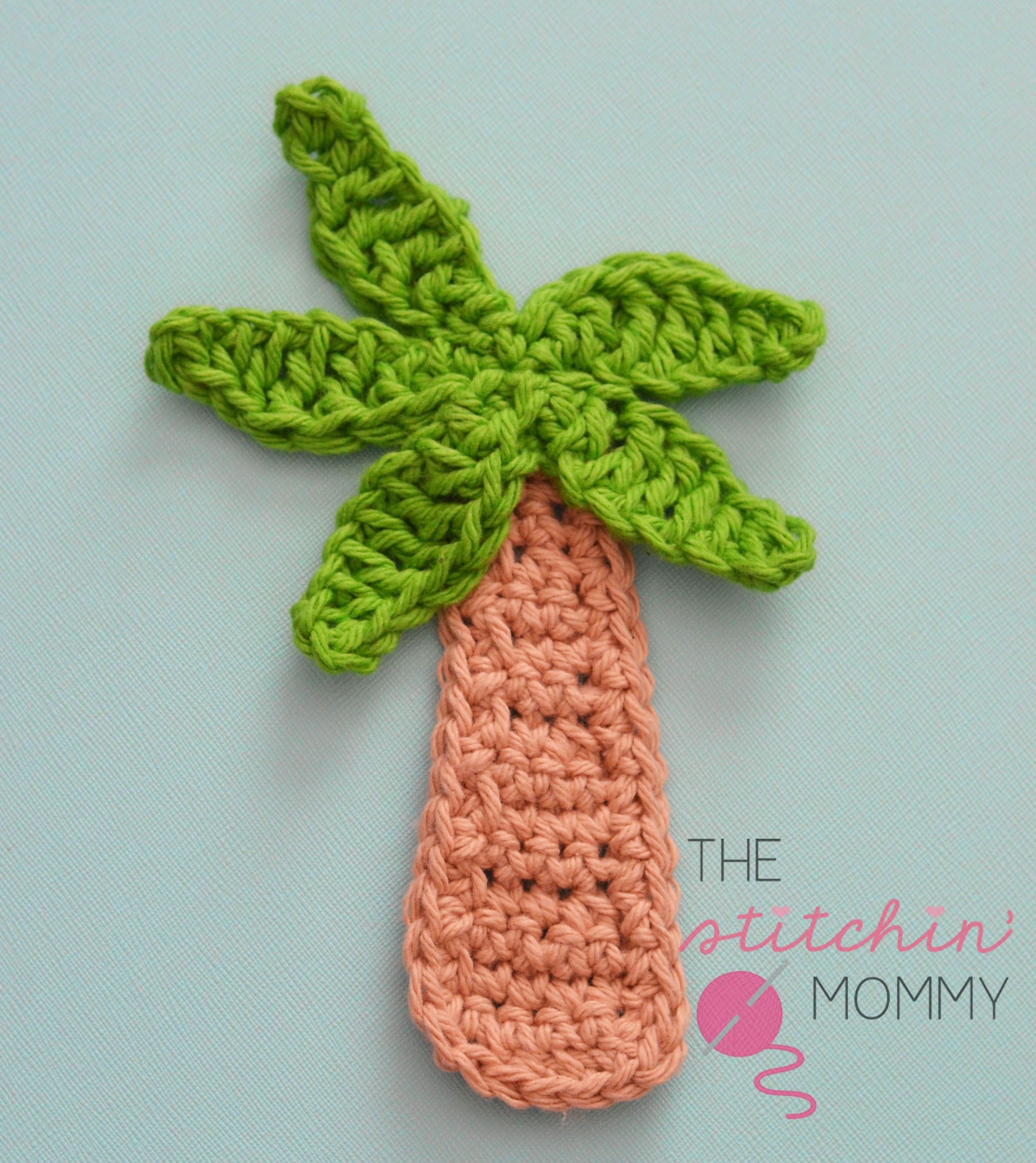 Palm Tree Applique - Free Pattern - The Stitchin Mommy