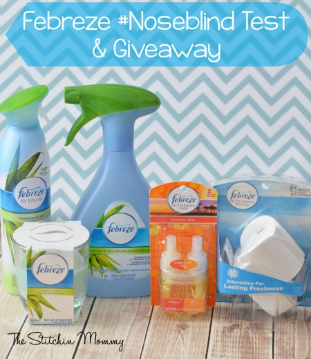 Are You #Noseblind? Are you #Noseblind? Febreze Noseblind Test and Giveaway www.thestitchinmommy.com