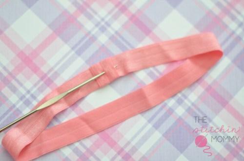 Crochet Flower Headband - Sharp Crochet Hook Review & Giveaway!