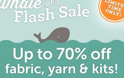 Craftsy's Whale of a Flash Sale: Save Up to 70%!
