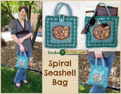 Spiral Shell Bag