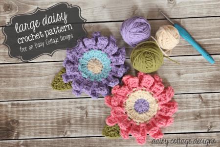 Large-Flower-Crochet-Pattern