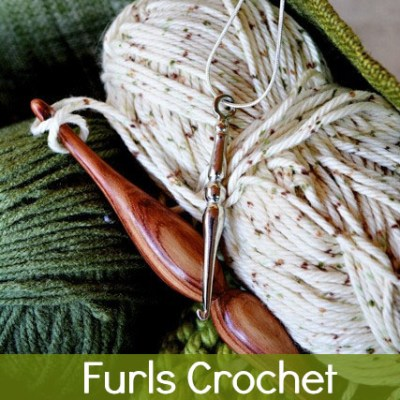 Crochet Pendant Giveaway from Furls Fiberarts