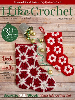 I Like Crochet Magazine December 2014 Issue