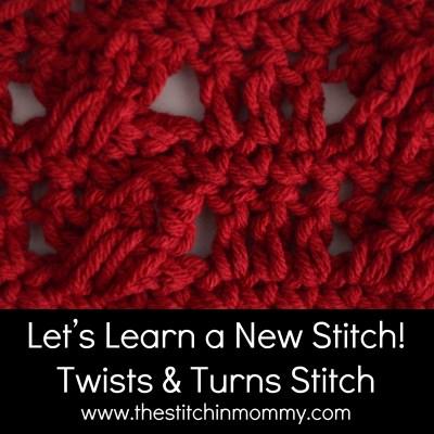 Twists and Turns Stitch Tutorial
