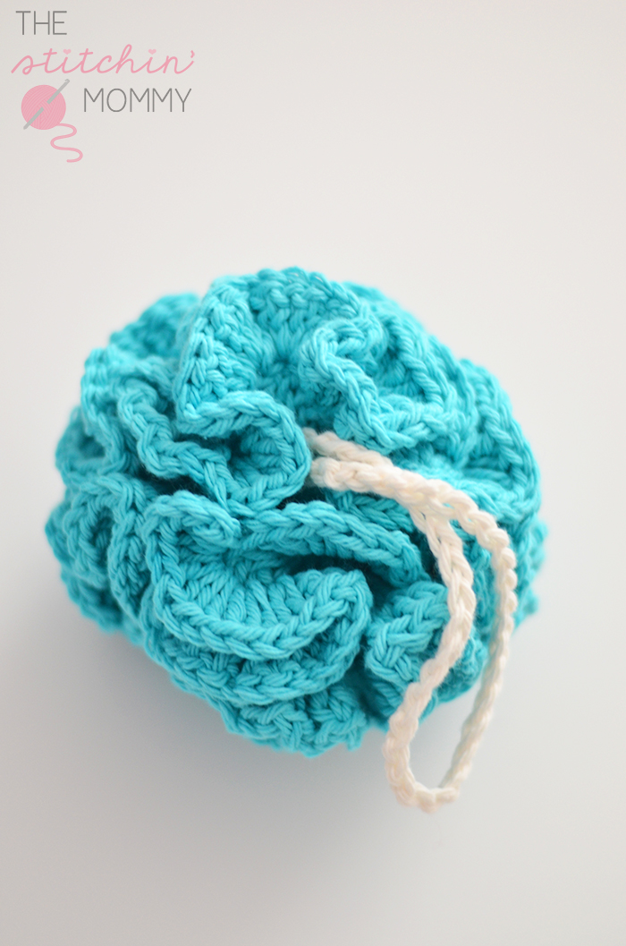 Puffy Bath Pouf Free Pattern The Stitchin Mommy