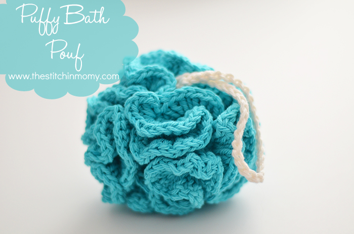 Pouf Häkeln bath pouf free pattern the stitchin