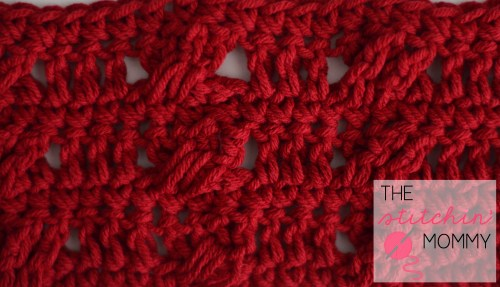 Twists and Turns Stitch Tutorial and Afghan Square | www.thestitchinmommy.com #crochet #stitch #tutorial #square #twists #turns #afghan
