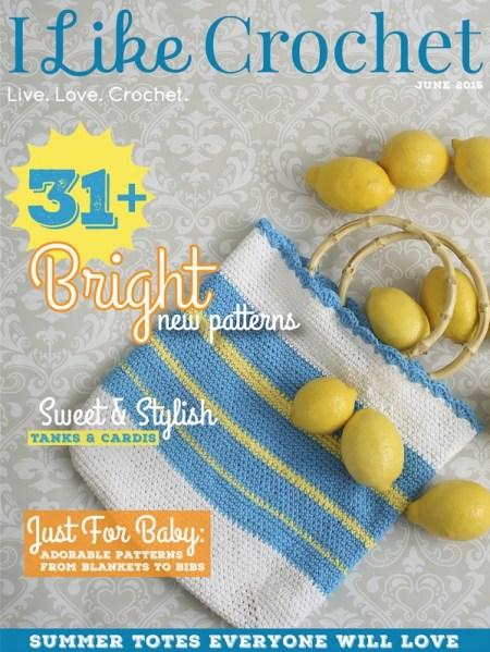 I Like Crochet Magazine - June Issue | www.thestitchinmommy.com #crochet #magazine #june #patterns #summer