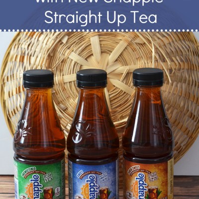 Busy Moms, Take a Break with New Snapple Straight Up Tea