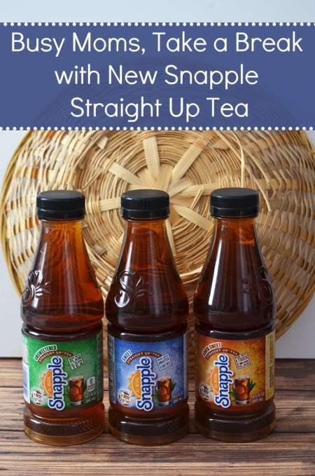 Busy Moms, Take a Break with New Snapple Straight Up Tea #teastraightup #CollectiveBias | www.thestitchinmommy.com