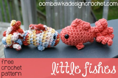 Little Amigurumi Fish