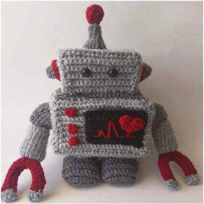 Crochet Robot Plush – Free Pattern