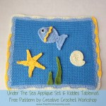 Under The Sea Applique Set & Kiddies Tablemat – Free Pattern