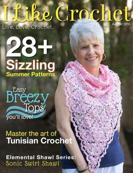 I Like Crochet Magazine - August Issue | www.thestitchinmommy.com